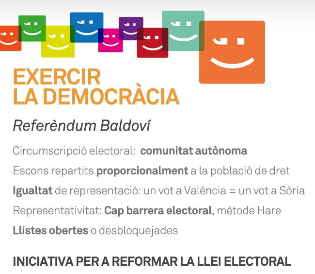 Explica Compromís: Exercir la democràcia